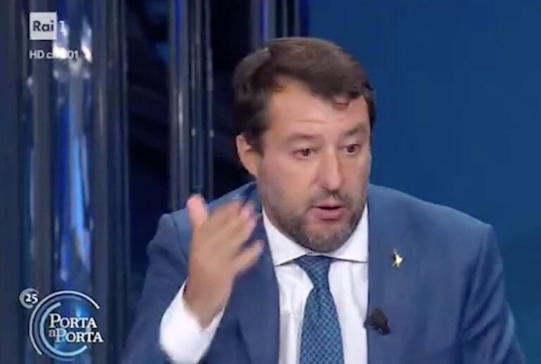 Per Matteo Salvini, Suarez è un «calciatore della Juve»