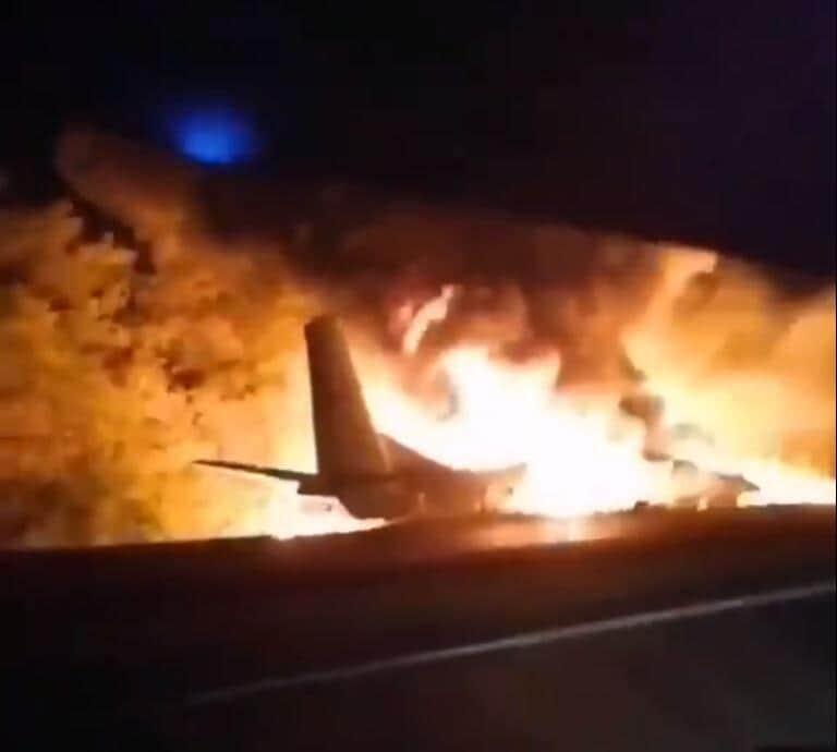 Incidente aereo in Ucraina, almeno 22 morti