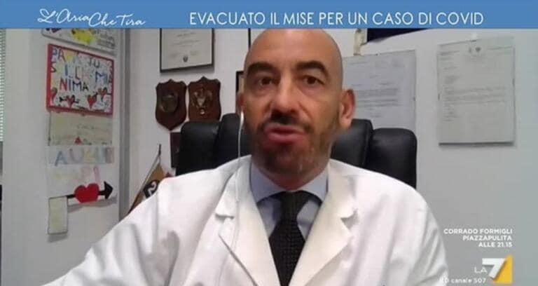Secondo l'infettivologo Bassetti, il caso Genoa è la Waterloo dei tamponi