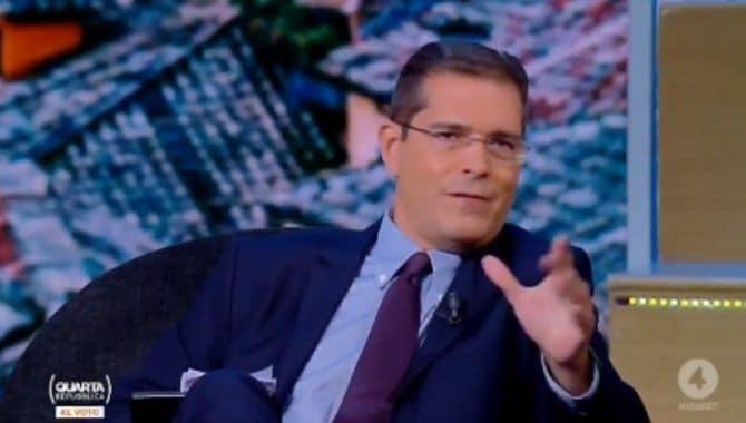 Capezzone su De Luca: «Se un leader di destra avesse detto la metà sarebbe in black list per i media»