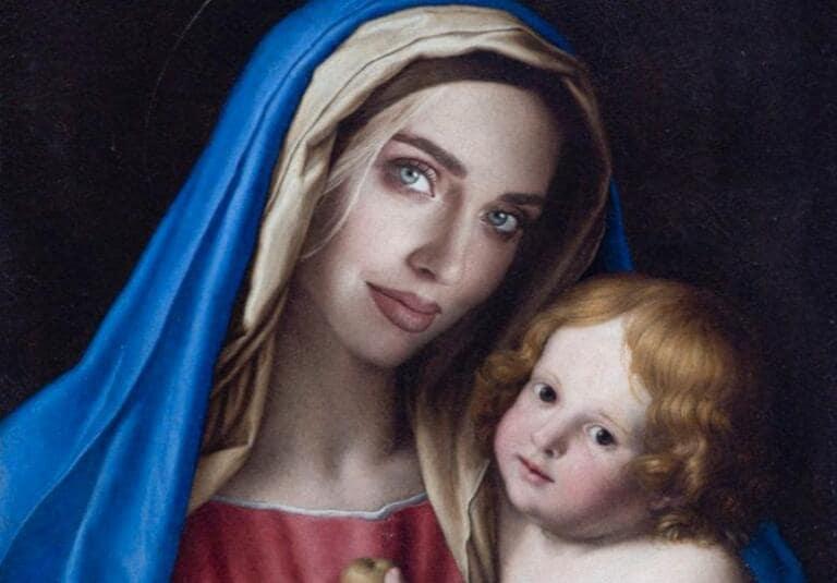 La denuncia del Codacons a Chiara Ferragni per blasfemia