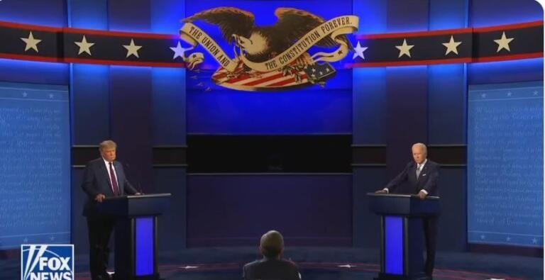 """Primo dibattito, Biden contro Trump: """"Sei il peggiore presidente della storia"""""""