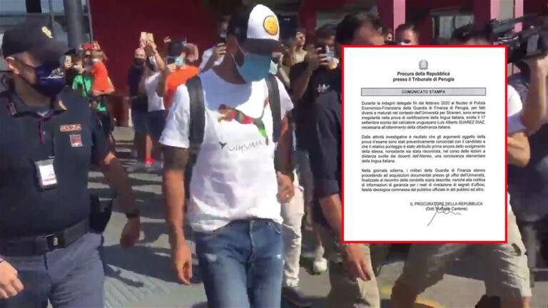 Cantone sulle tracce dell'esame di italiano di Suarez: «Prova concordata e voto già deciso»