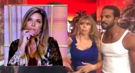 Alessandra Mussolini che accusa la Lucarelli di averla giudicata in quanto donna