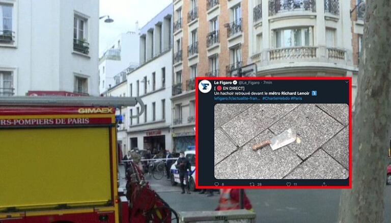 Assalto a Parigi, si indaga per terrorismo: ritrovato una mannaia insanguinata