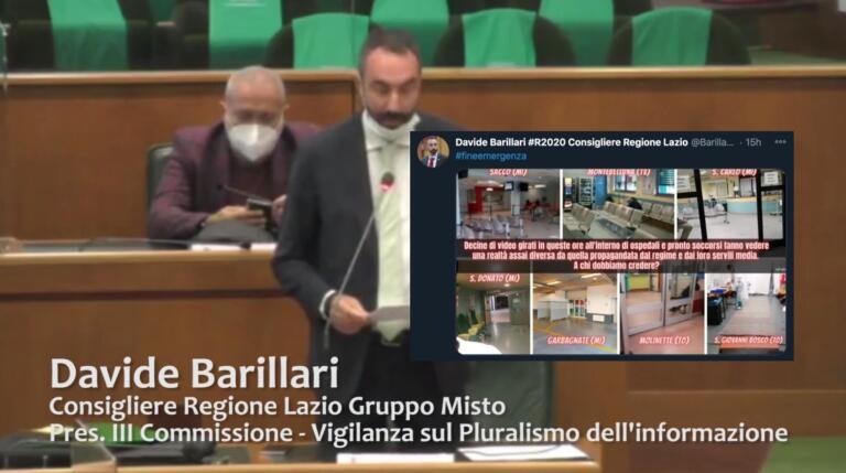 Davide Barillari, ovvero il complottismo (a suon di bufale)
