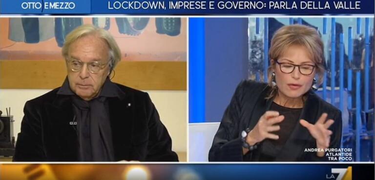 """Emergenza Covid, anche Della Valle suona l'allarme: """"La situazione economica è molto grave"""""""