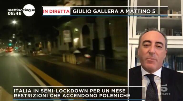Chissà cosa ne pensa Salvini di Gallera che legittima le misure inserite nell'ultimo Dpcm | VIDEO