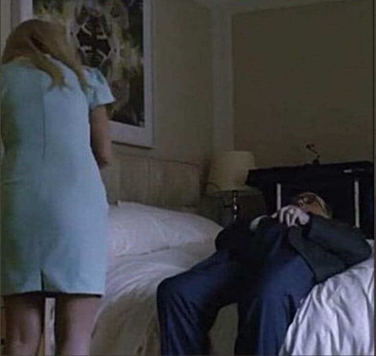 Giuliani shock |  ripreso da Borat a toccarsi davanti a una presunta minorenne