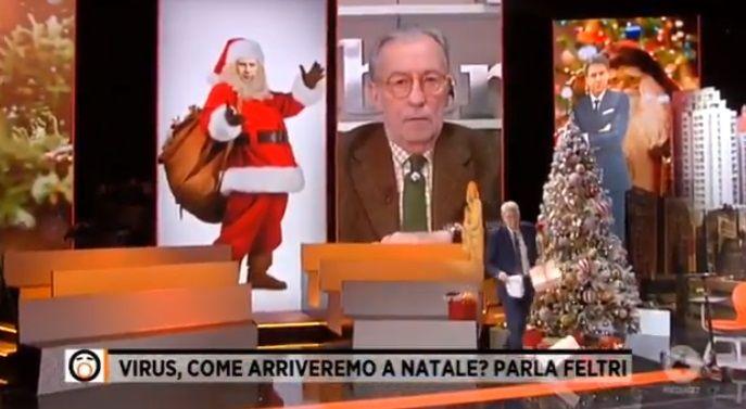 Vittorio Feltri propone il regalo di Natale per Conte: «Una bella lettera di dimissioni» | VIDEO