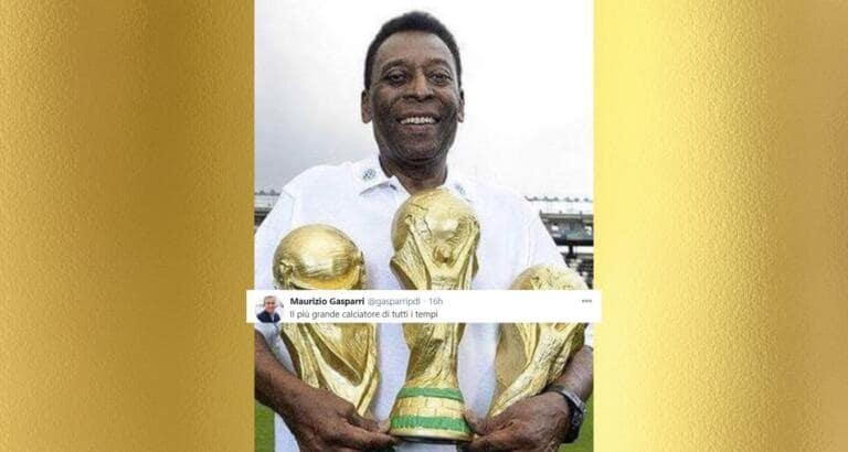 Il tempismo di Gasparri che esalta Pelé