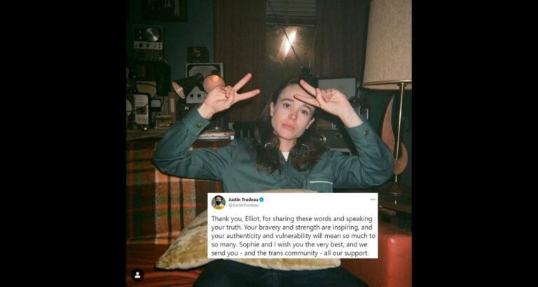 Elliot Page: l'attrice protagonista di Juno ha cambiato sesso