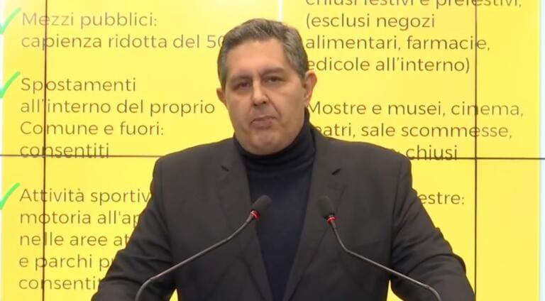 Cosa ha realmente detto Toti sulle zone e i «vasi comunicanti» | VIDEO