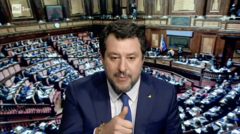 La supercazzola di Salvini sui ritardi di Pfizer nella consegna dei vaccini