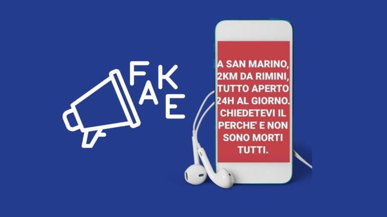 La bufala di «a San Marino è tutto aperto 24 ore al giorno»