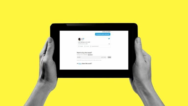 C'è chi è disposto a pagare 1,5 milioni di dollari per diventare proprietario del primo tweet mai twittato