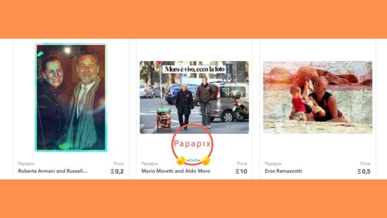 Papapix è la prima realtà editoriale a sbarcare nel mondo degli NFT