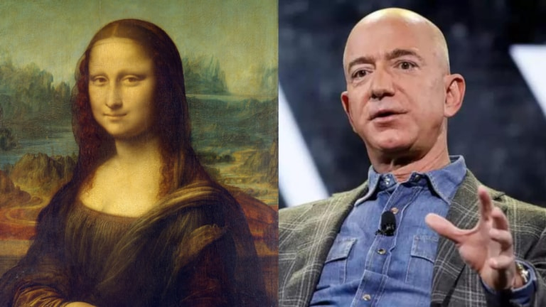 Una petizione per Jeff Bezos: mangiare la Monna Lisa