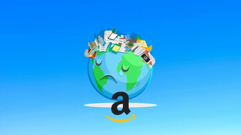 Amazon accusato di mandare gli articoli invenduti in discarica