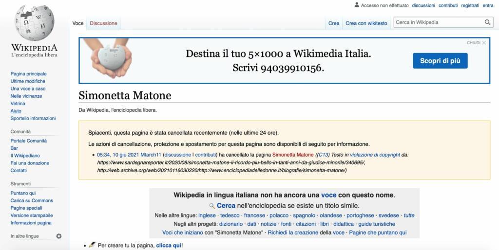chi è Simonetta Matone