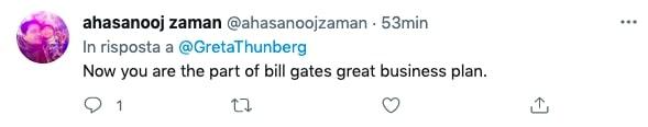 commento Greta Thunberg vaccinata