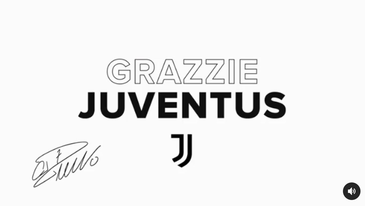 Grazzie Juventus