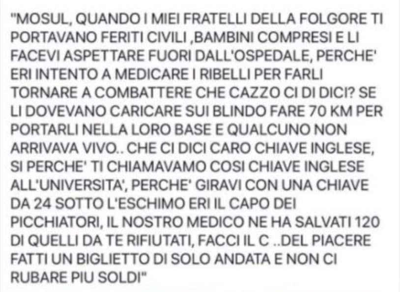 Gino Strada e la chiave inglese