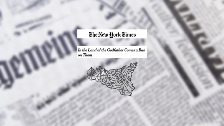 Quel titolo del New York Times che proprio non piacerà ai siciliani