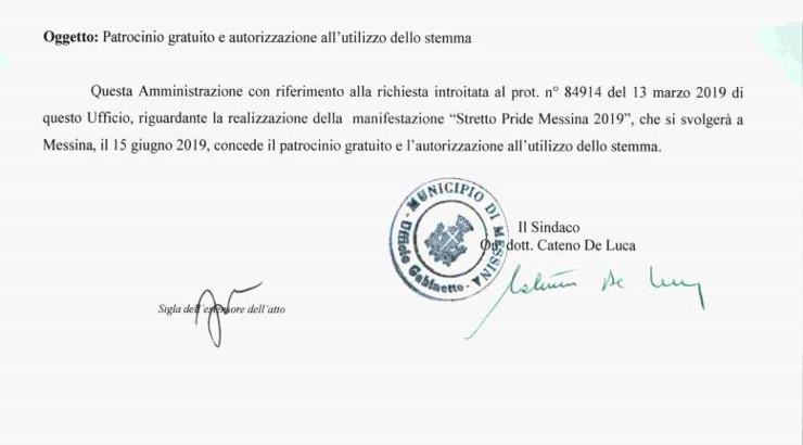 """Dietrofront del dietrofront: il Comune ritira il patrocinio al Pride 2019. De Luca: """"Ho firmato per errore"""""""