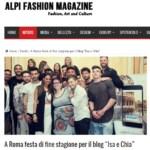 Alpi Fashion Magazine, giugno 2016