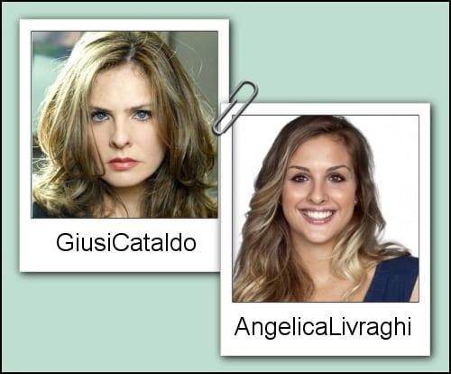 Somiglianza tra Angelica Livraghi e Giusi Cataldo