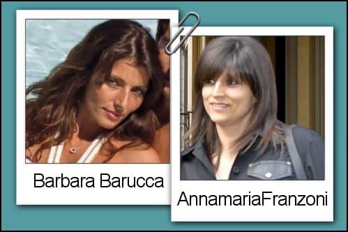 Somiglianza tra Barbara Barucca ed Annamaria Franzoni
