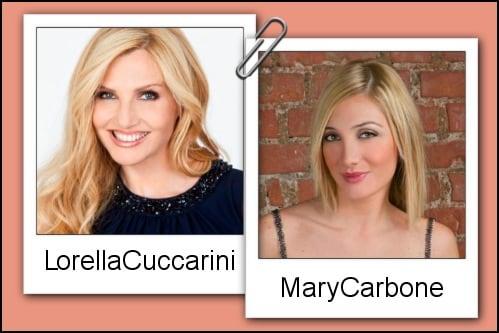 Somiglianza tra Mary Carbone e Lorella Cuccarini