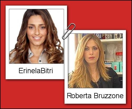Somiglianza tra Erinela Bitri e Roberta Bruzzone