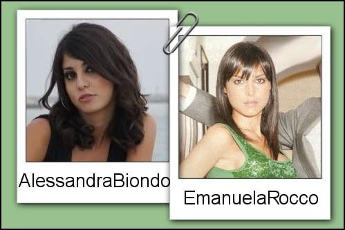 Somiglianza tra Alessandra Biondi e Manuela Rocco