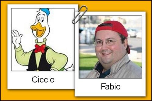 Somiglianza tra Ciccio e Fabio