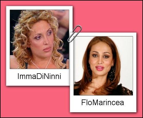 Somiglianza tra Imma Di Ninni e Flo Marincea