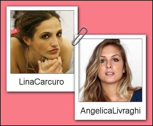 Somiglianza tra Angelica Livraghi e Lina Carcuro