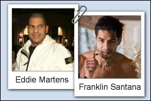 Somiglianza tra Eddie Martens e Franklin Santana