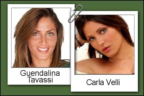 Somiglianza tra Guendalina Tavassi e Carla Velli