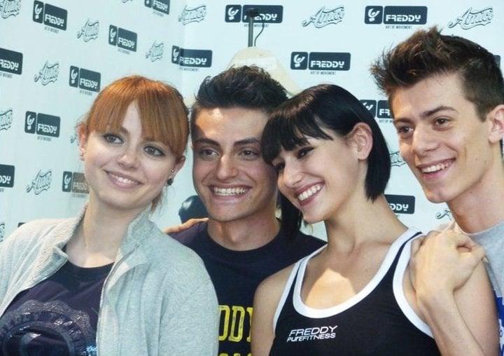 Annalisa Scarrone,Virginio Simonelli,Giulia Pauselli e Denny Lodi