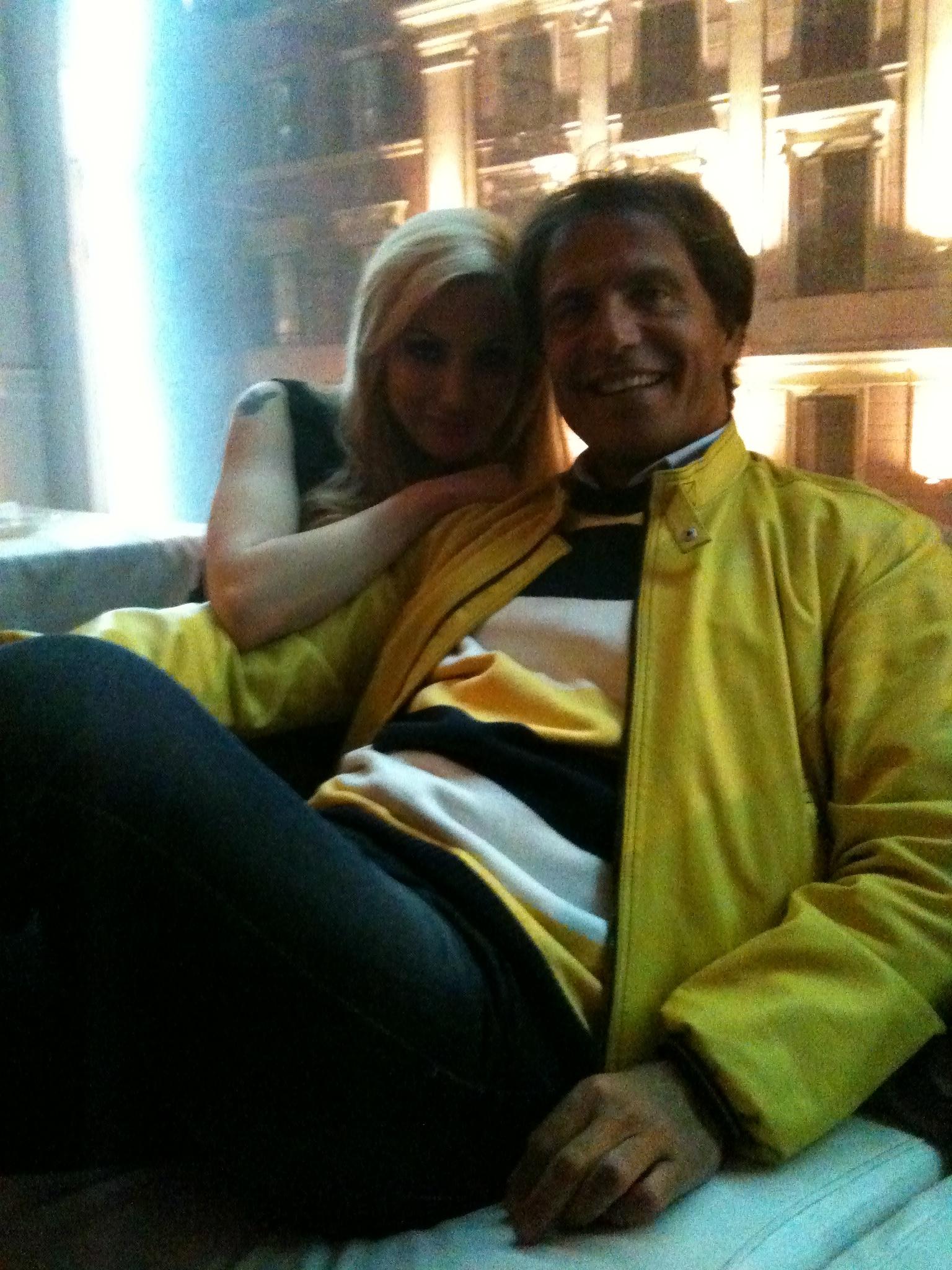 Antonio Zequila e Valentina Ciccone