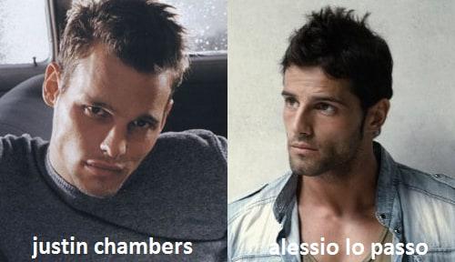 Somiglianza tra Alessio Lo Passo e Justin Chambers