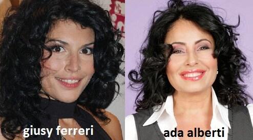 Somiglianza tra Giusy Ferreri e Ada Alberti