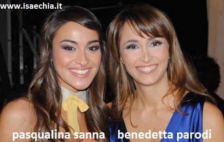 Somiglianza tra Pasqualina Sanna e Benedetta Parodi