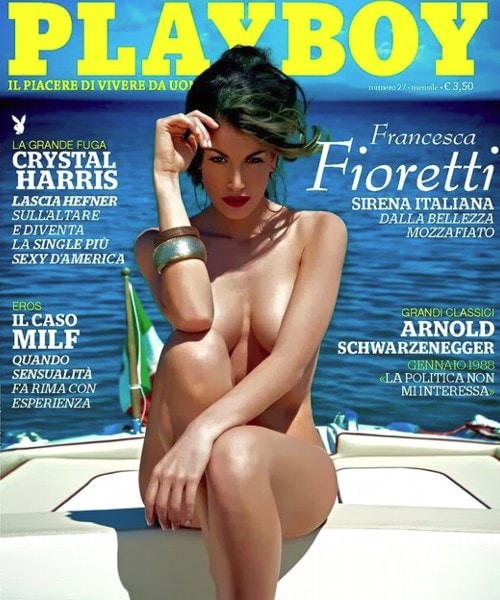 Francesca Fioretti su Playboy