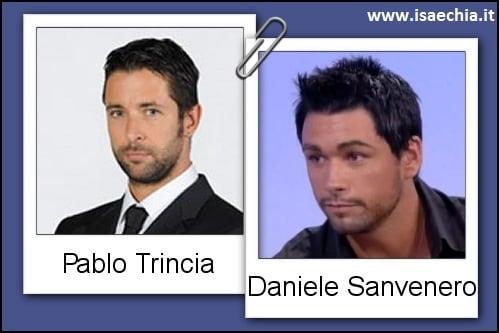 Somiglianza tra Pablo Trincia e Daniele Sanvenero