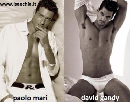 Somiglianza tra Paolo Mari e David Gandy