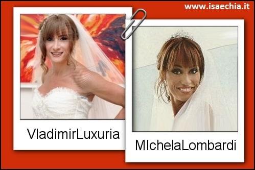 Somiglianza tra Vladimir Luxuria e Michela Lombardi