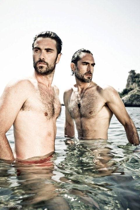 Luca Calvani e Sergio Muniz